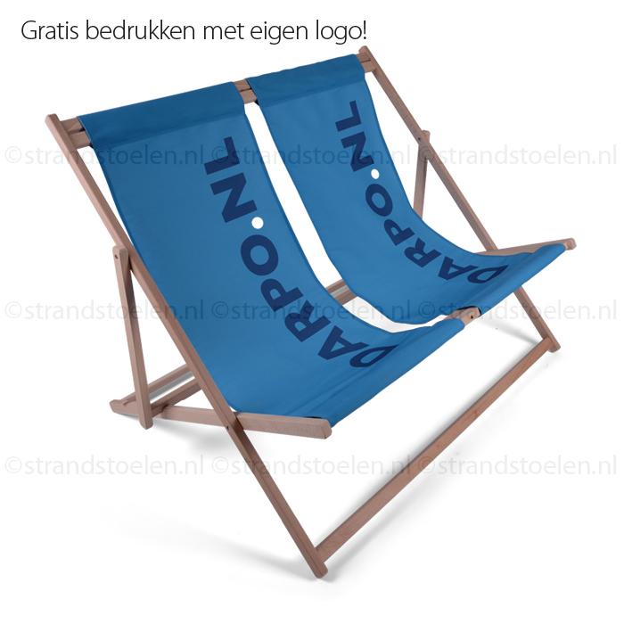 strandstoel voor twee