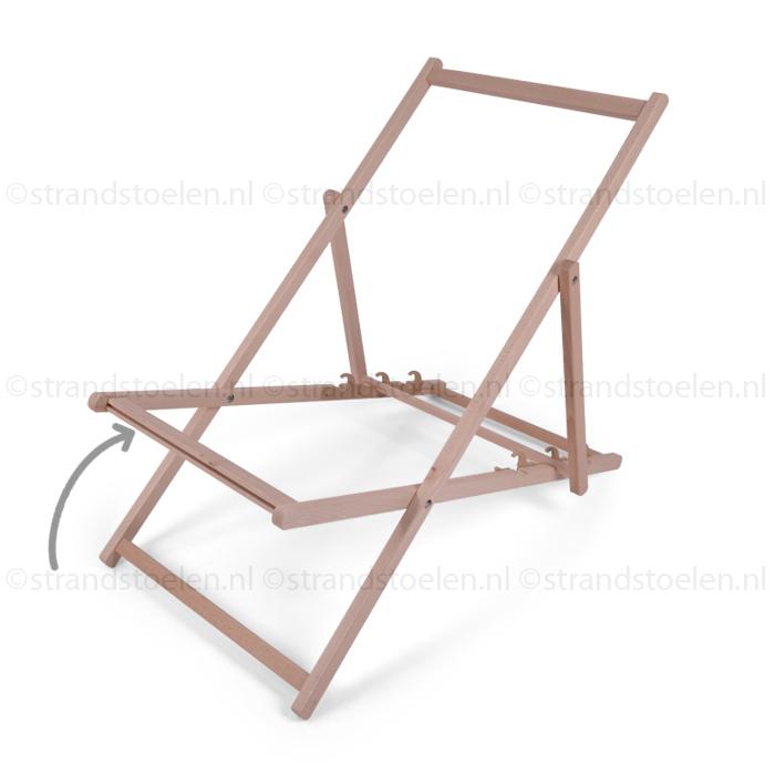 Strandstoel Met Houten Frame.Houten Strandstoel Frame Strandstoelen Nl
