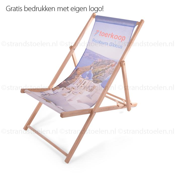strandstoelen met opdruk