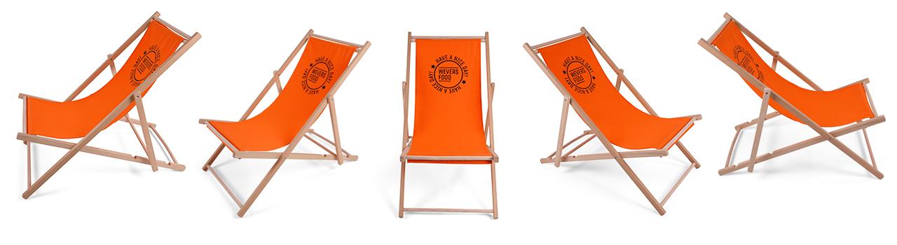 stranstoelen met logo