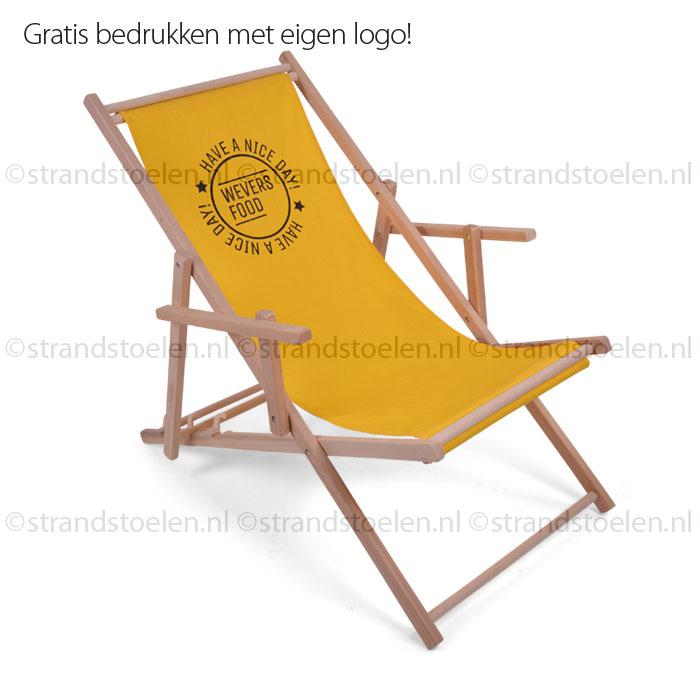 Houten Strandstoel Met Armleuning.Strandstoel Met Armleuning Strandstoelen Nl